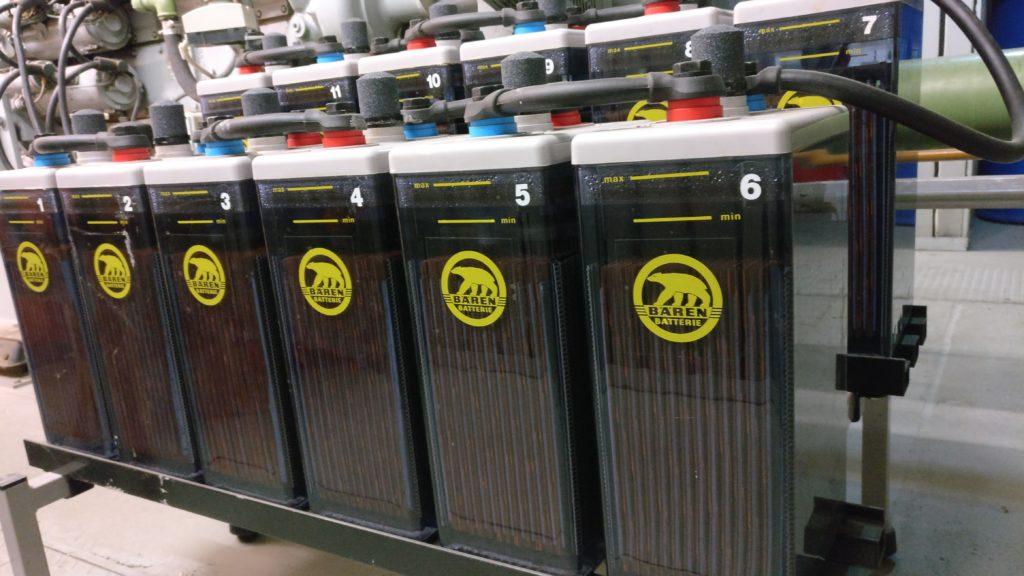 Batteriesatz für Notstromanlage