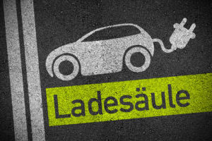 Symbol LadesäuleE-Mobility